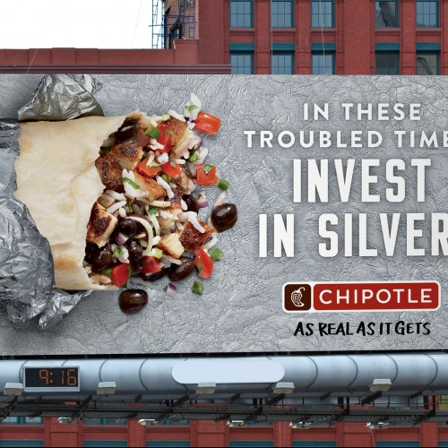 Chipotle - As Real As It Gets OOH