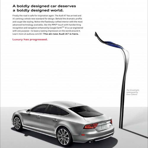 Audi - Boldly Designed World