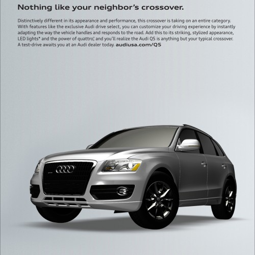 Audi - Nothing Like Your Neighbor's Crossover