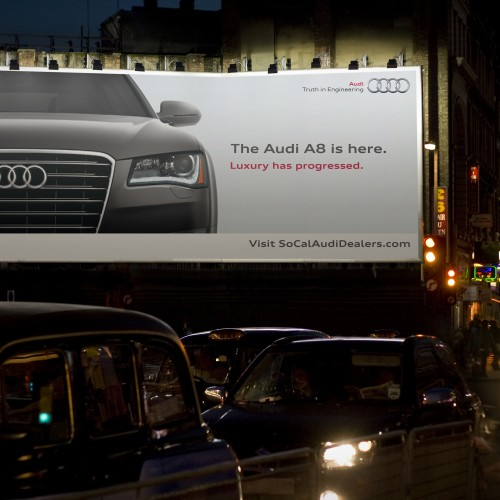 Audi - The Audi A8 is Here