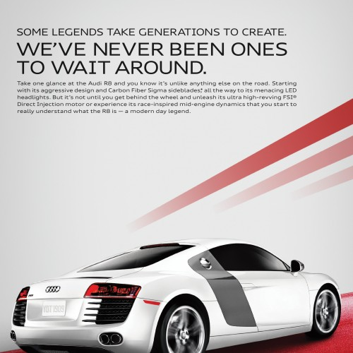 Audi - R8 Legends