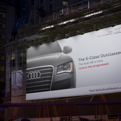 Audi - S Class Out Classed